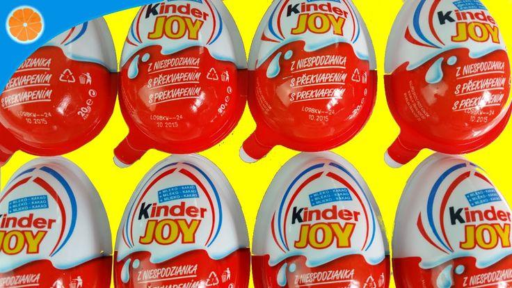 12 Kinder Joy Angry Birds Opening | Kinder Surprise eggs | Blue Orange