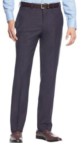 Calvin Klein Mens Wool Extra Slim Fit Dress Pants