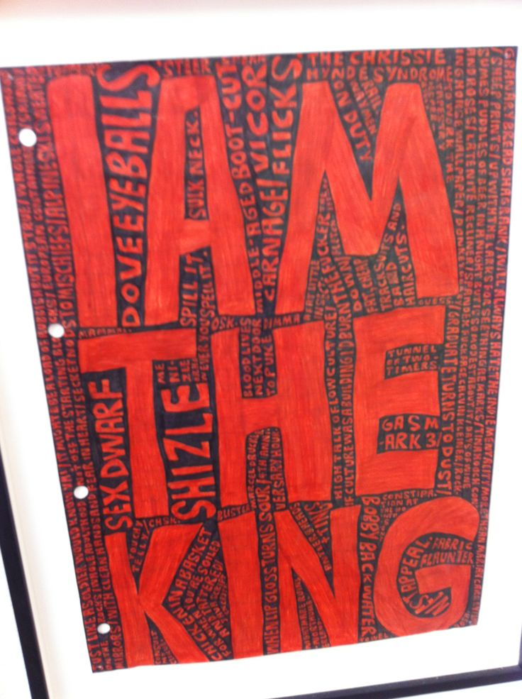 'I am the King' Steven Lowery The Saatchi Gallery