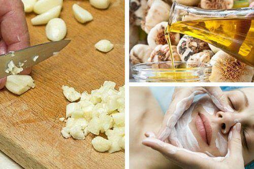 Combattere l'invecchiamento precoce vi è l'aglio. Come preparare maschere facciali all'aglio.
