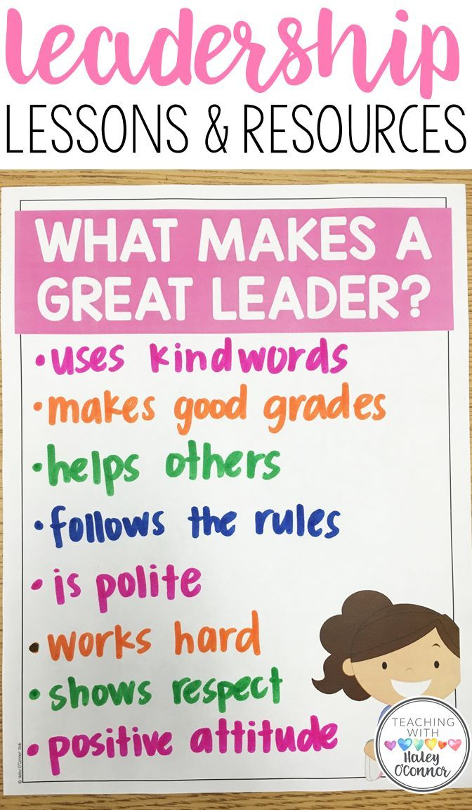 Teach students how to be leaders in the classroom. Students will discuss what makes a great leader, and how to show leadership with their peers. Various lesson plans, anchor charts, and activities about leadership in the classroom.