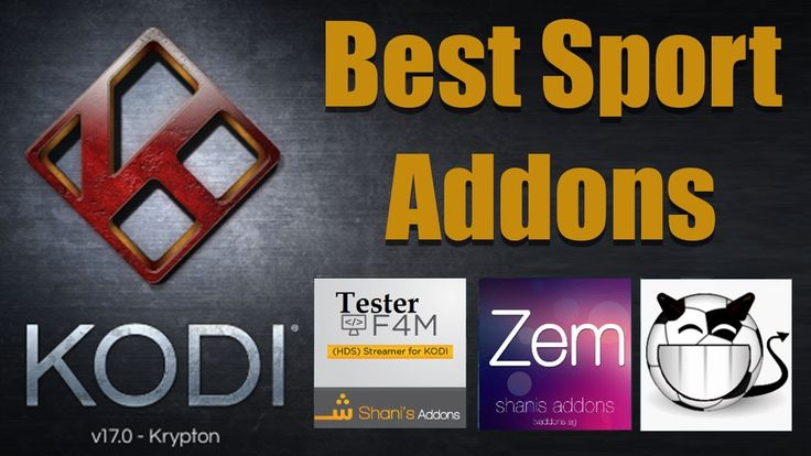 Enjoy live sports from top channels, with the directly streamend on kodi community, it provides best guidelines that how to install best kodi sports addons 2017 and it all free. Here is step by step details information about all sports addons.  Here you will find the list of top best sports addons for kodi, these addons give you access to various type of sports such as NHL, UFC, football, NFL.
