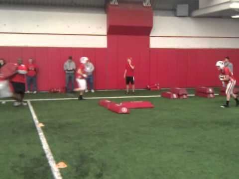RB jump cut drills
