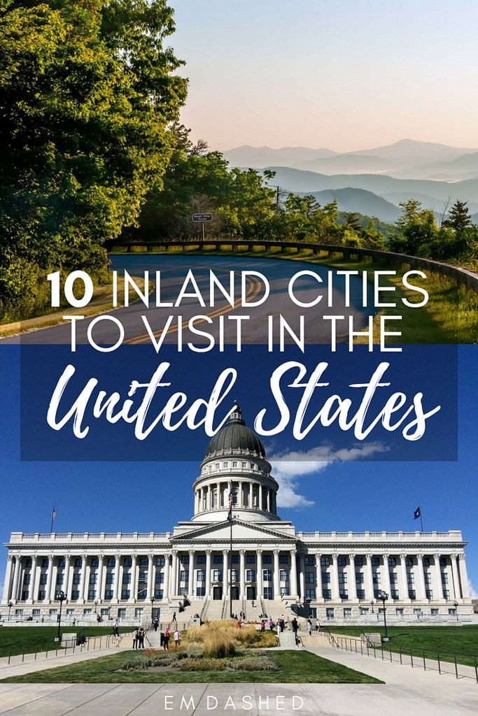 "Inland USA only has to be ""flyover country"" if you treat it that way. Here are 10 inland American cities worth landing for."