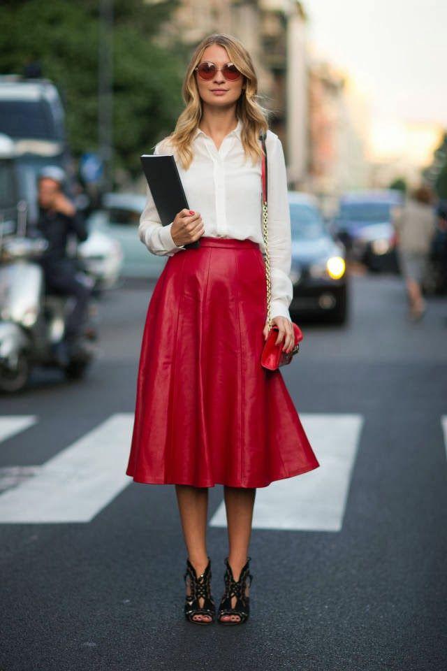 Красные юбки (116 фото): с чем носить, фасоны карандаш и солнце, длинные в пол и короткие, пышные, миди, сочетания
