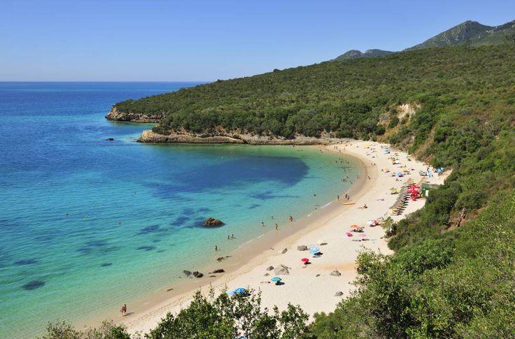 Playas cerca de Lisboa.