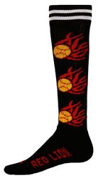 Flaming Softballs All Sport Socks