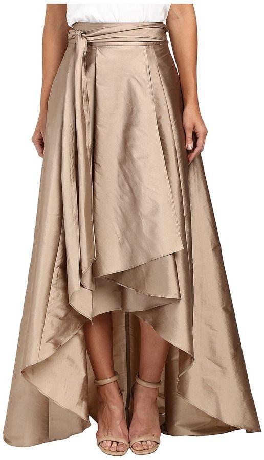 Adrianna Papell High-Low Ball Skirt