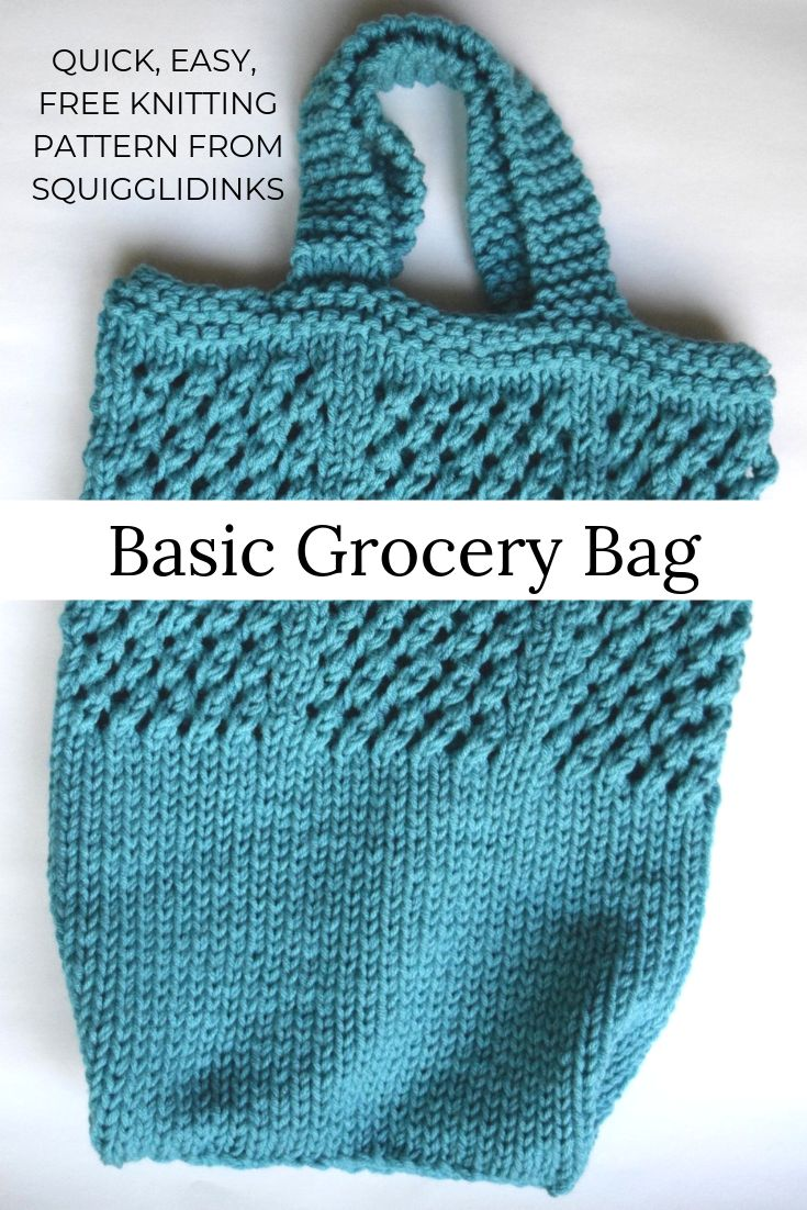 Great Knit Bag Patterns And Free Choose Your Own Style