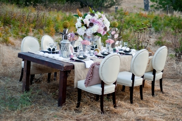 Steel Magnolias Wedding Inspiration  Best chairs ever used at outdoor venue