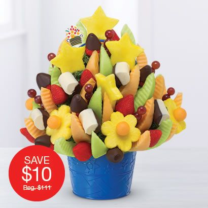 Edible Arrangements - Delicious Celebration® with Dipped Strawberries & Bananas