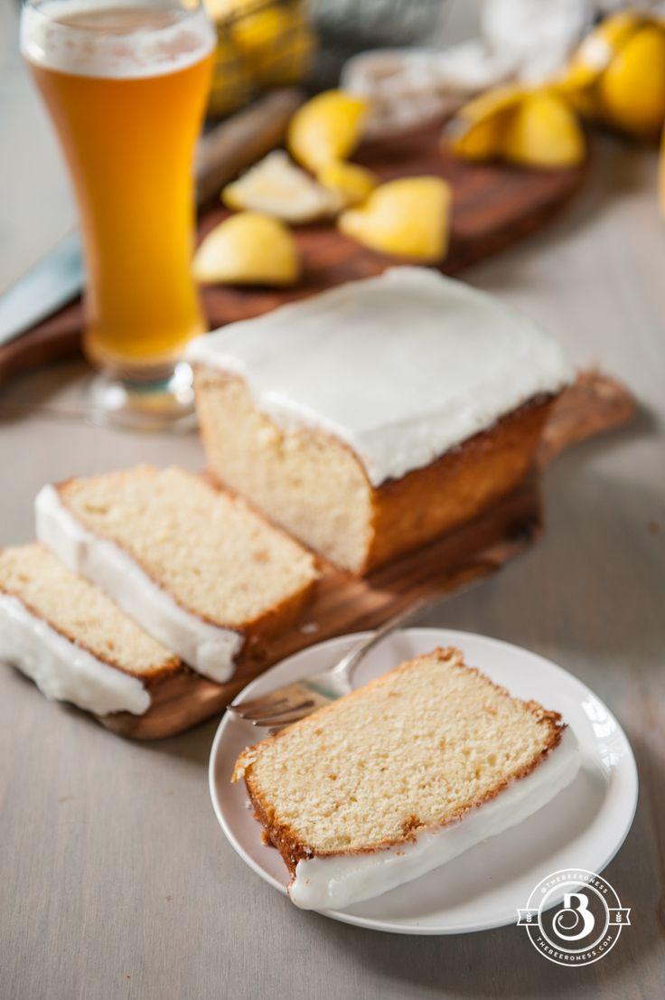 Lemon Beer Pound Cake