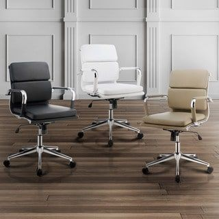 Shop for Furniture of America Konan Padded Standard Back Office Chair. Get free shipping at Overstock.com - Your Online Furniture Outlet Store! Get 5% in rewards with Club O! - 18181115