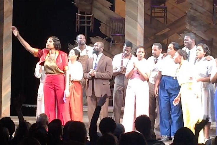 Jennifer Hudson, Color Purple cast turn encore into a beautiful Prince tribute