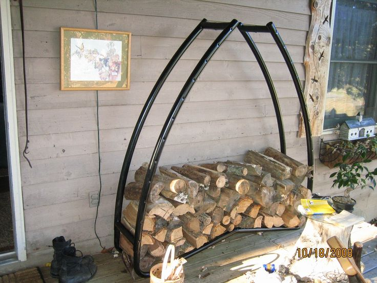 Recycled trampoline frame