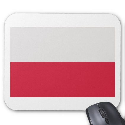#Low Cost! Poland Flag Mouse Pad - #travel #office #gifts