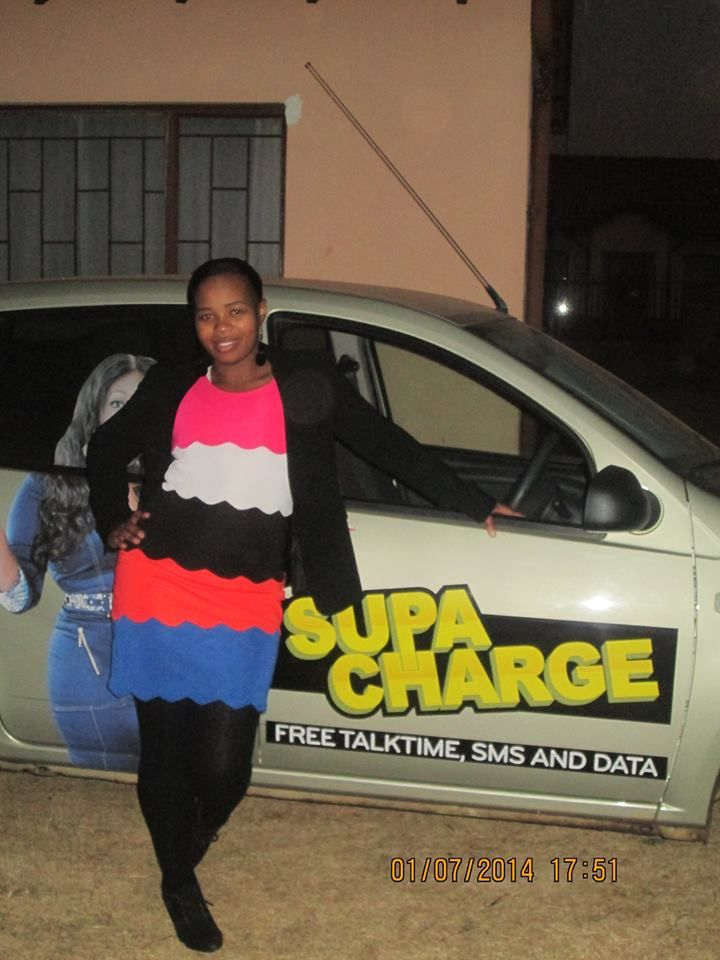 Precious is happy to be a part of the Cell C SUPACHARGE campaign.