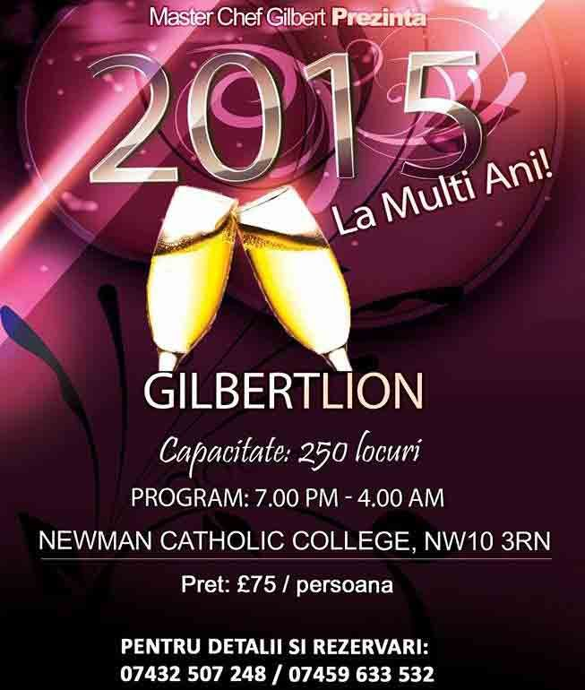 Revelion 2015 cu Master Chef Gilbert