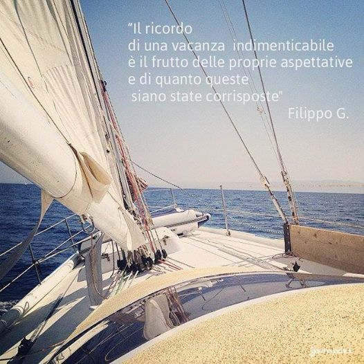 """""""il ricordo di una vacanza indimenticabile è il futuro delle proprie aspettative e di quanto queste siano state corrisposte"""" Filippo G. #boat #ship #barca #sea #mare #travel #viaggiare #citazione #citation #quotes #ricordo #memories #holyday #vacanza"""
