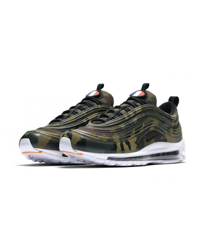 af2132ef289 Authentic Nike Air Max 97 Premium Camo France Trainers