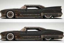 Post-Apocalyptic Car, Post-apocalyptic Car, car, просмотров 651