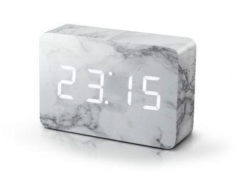 Brick Marble Click Clock - Brick Click Clock - Gingko Electronics - HOME