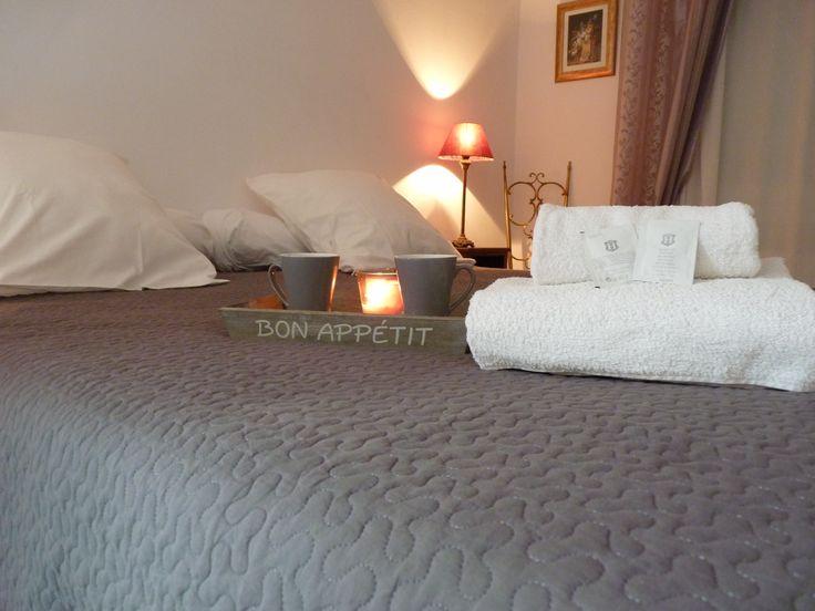 Studio Adriana - Chambres d'hôtes - B&B - Bed and breafast - Décoration d'intérieur - Décoration romaine - Room - Ambiance cosy