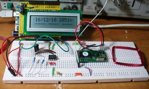 RFID Arduino punchclock