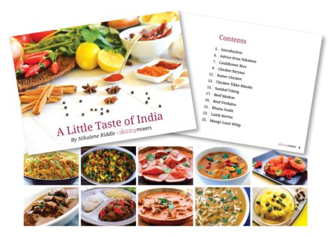A Little Taste of India Cook Book - Skinnymixer's #thermomix