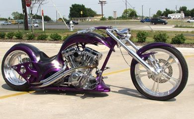 Purple chopper