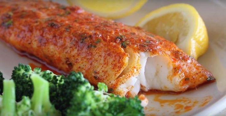 Filet de tilapia dans une croûte de fromage Parmesan et paprika - Recettes - Ma Fourchette