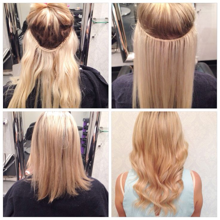 Weave extension repair by the Chilli Couture extension specialist  www.chillicouture.com.au