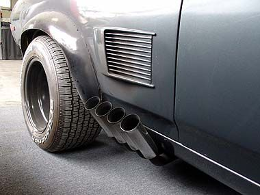 Zoomie side pipes. | Torino | Muscle Cars, Mad Max ...