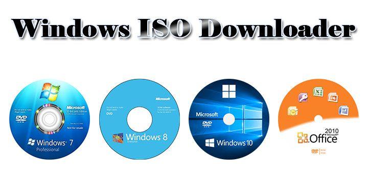 Windows ISO Downloader - Utilitar pentru descarcarea imaginilor ISO pentru Windows si Office, direct de pe site-ul Microsoft.