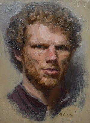 Ewan McClure - 2nd place series 1 Portrait Artist of the Year, winner of Scottish heat 2013