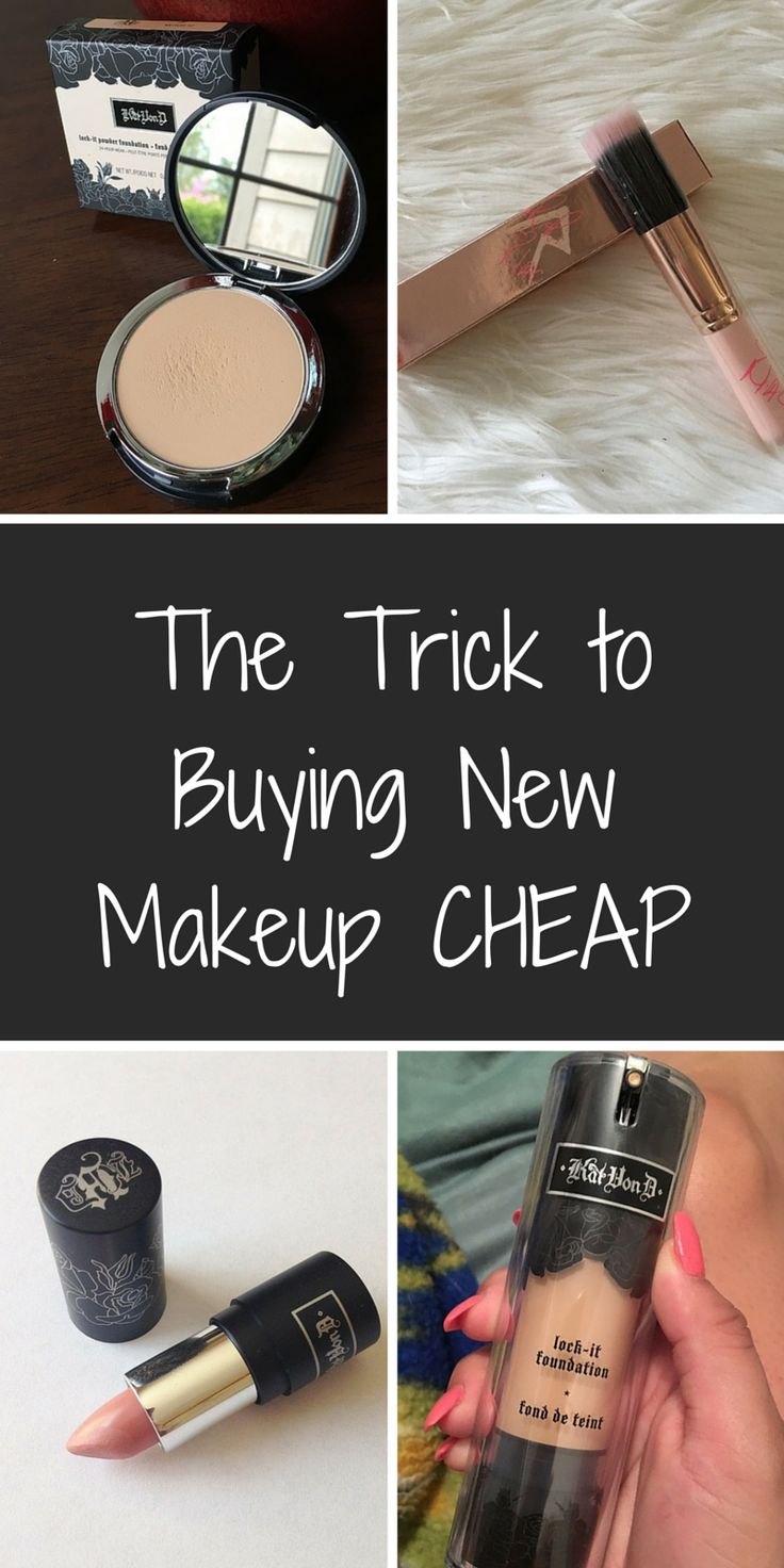 The brands you want, at the prices you'll love! Shop brand new makeup from top industry names like MAC Cosmetics, Kat Von D Beauty, Kylie Cosmetics, and much much more at up to 70% off retail! Click or tap the image to download the FREE app now, and take advantage of daily deals!