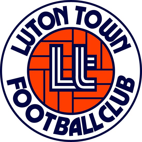 Luton Town Badge 1973 - 1987. Classic