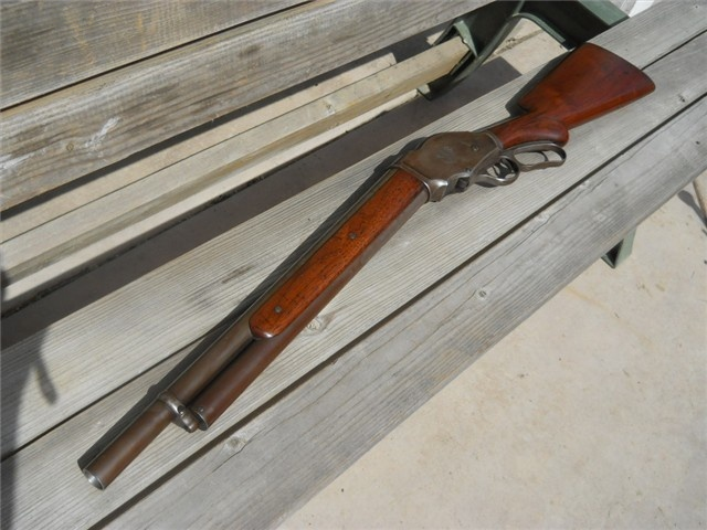 Winchester Model 1887 10 ga Lever Action - Antique