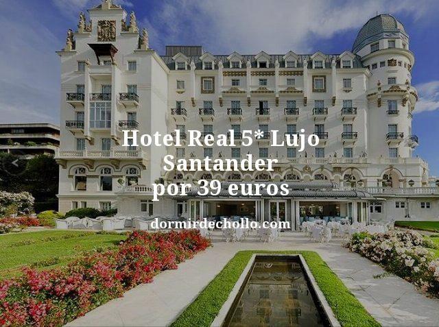 Hotel Palacio Real 5 Lujo Santander Por 39 Euros Https