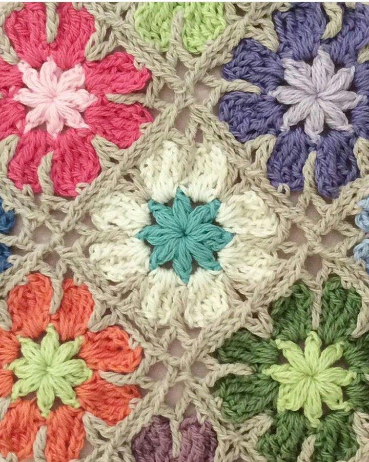 Crochet granny squares                                                                                                                                                                                 More