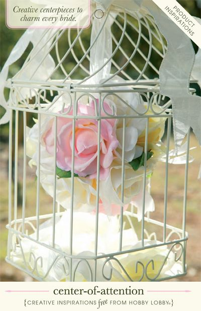 From Hobby Lobby · Creative Wedding Centerpieces To Charm Every Bride!