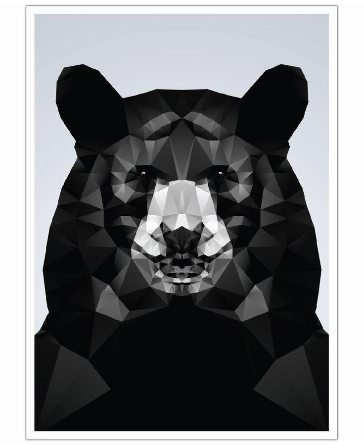 Geo Black Bear VON Three Of The Possessed now on JUNIQE!