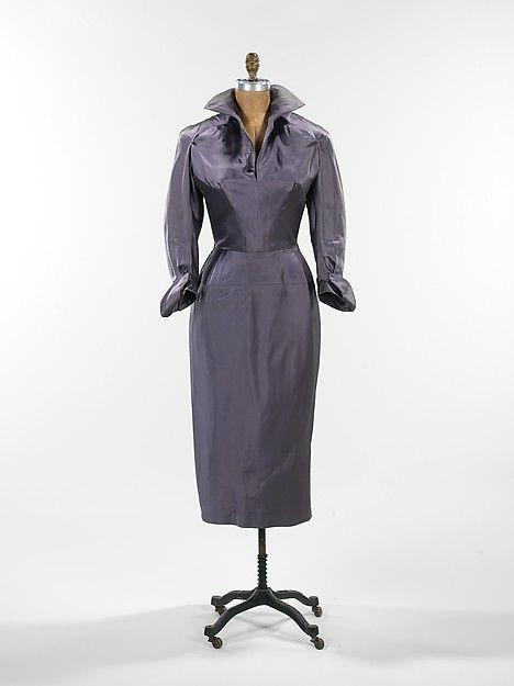 Charles James | Cocktail dress | American | The Metropolitan Museum of Art