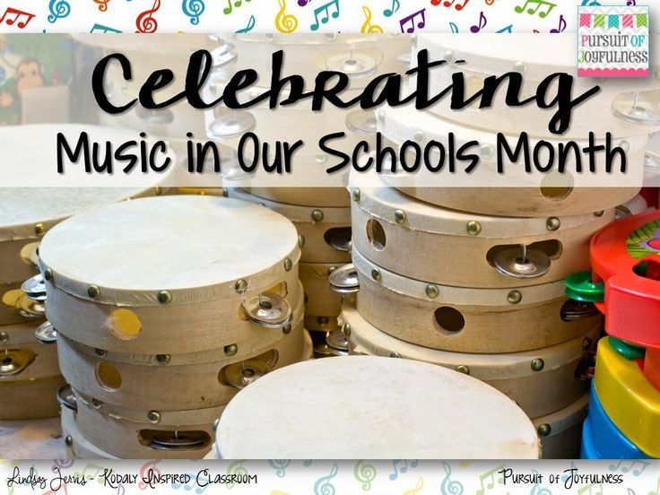 Pursuit of Joyfulness: Celebrating Music In Our Schools Month #MIOS30 #MIOSM