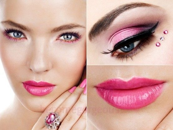 There was a time when the women and young girls used to make over very simple cosmetic and make up products. It seemed that those ladies were short of best and most appropriate make up ideas, which made them believe to be simple and lesser attractive.