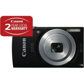 Just point and shoot and this slim Canon IXUS145BK Black Digital Camera will take care of the rest! #TheGoodGuysFTW