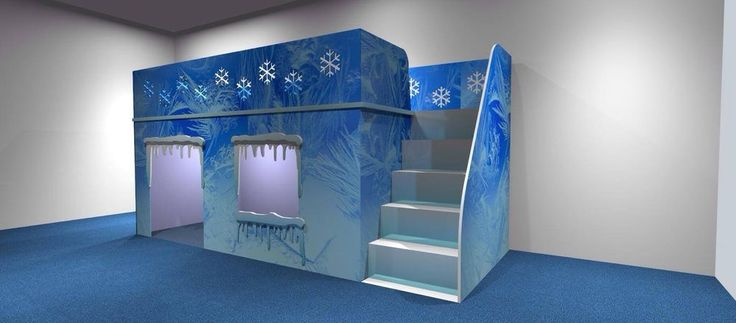 Frozen Themed Ice Bed For Children By Dreamcraft Furniture