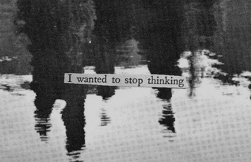 how to stop thinking about suicidal thoughts
