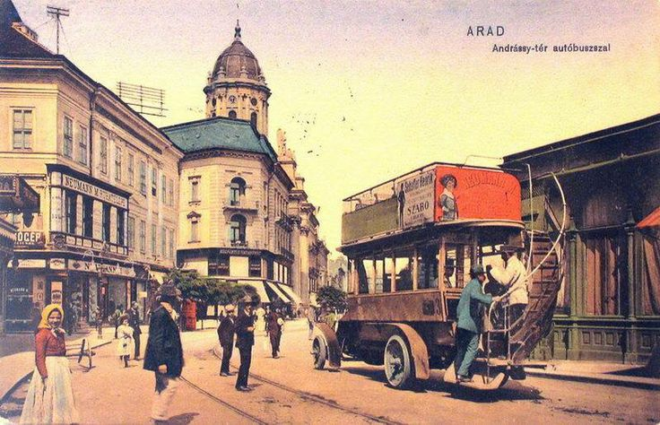 Postcard of Arad, 1910