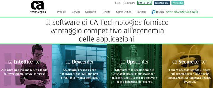Guida su come Lavorare per CA Technologies e PC Associates a Milano, Roma e Stati Uniti + soluzioni Marketing per vendere Software online nel mondo.